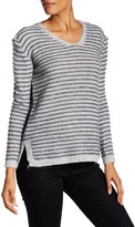 Luma Striped V-Neck Sweater
