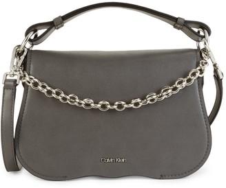 Calvin Klein Mini Statement Series Western Chain Crossbody Bag