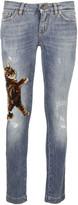Dolce & Gabbana Cat Skinny Jeans