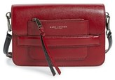 Marc Jacobs Madison Colorblock Leather Crossbody Bag - Red