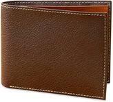 Perry Ellis Men's Leather New York Simple Bifold Wallet