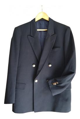Pierre Cardin Blue Wool Jackets
