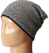 Plush Fleece - Lined Herringbone Beanie