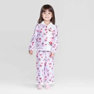 Peppa Pig Toddler Girls' Coat Pajama Set - Lavender