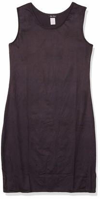 Star Vixen Women's Sleeveless Round Neck Midi-Length Dress