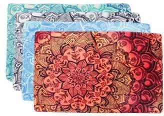 """Wedlies 31.5""""X19.7"""" Abstract Flowers Bathroom Rugs Non-Slip Floor Carpet Entryways Outdoor Indoor Front Door Mat Home Decor"""
