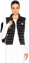 Moncler Liane Polyamide Vest in Black.