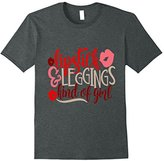 Lipstick and Leggings Kind of Girl Shirt Makeup Bestie Wife