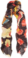 Stella McCartney Printed Modal And Silk-Blend Scarf