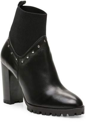 The Kooples Studded Leather Heeled Ankle Boots