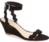 Loeffler Randall 'Minnie' Wedge Sandal (Women)