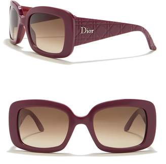 Christian Dior Lady Lady 2 53mm Rectangular Sunglasses
