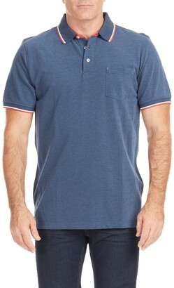 Johnny Bigg Nash Tipped Polo Shirt