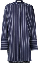 Dion Lee striped oversized shirt - women - Cotton - 6