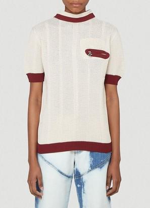 Telfar Knitted Polo Shirt
