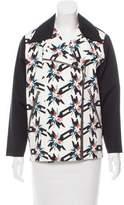 Tanya Taylor Printed Casual Jacket