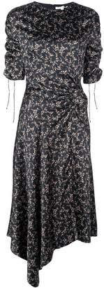 Jonathan Simkhai floral drawstring dress