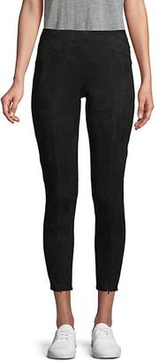 Laundry by Shelli Segal Cropped Suede Pants