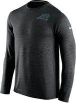 Nike Men's Carolina Panthers Dri-FIT Touch Long-Sleeve T-Shirt