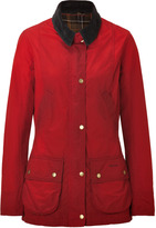 Barbour Chili Red Vintage Beadnell Jacket