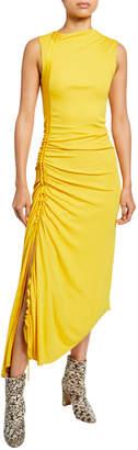 Sies Marjan Jersey Side-Ruched Dress
