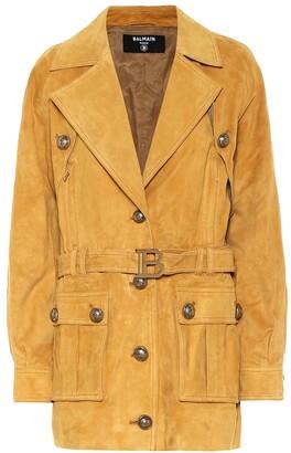 Balmain Suede jacket