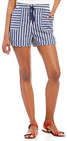 Takara Lace-Up Striped Shorts