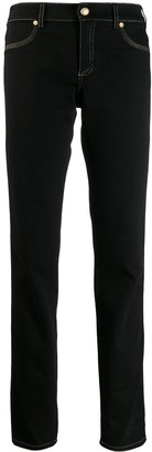Versace Jeans Couture Contrast Stitching Jeans