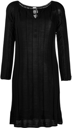 Missoni Pre Owned 2000s Round Neck Dress