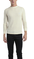 Lucien Pellat-Finet Thermal Sweater Leaf in Ivory