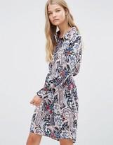 Vila Paisley Shirt Dress