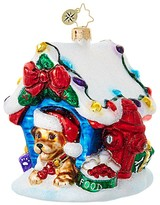 Christopher Radko In the Dog House Ornament