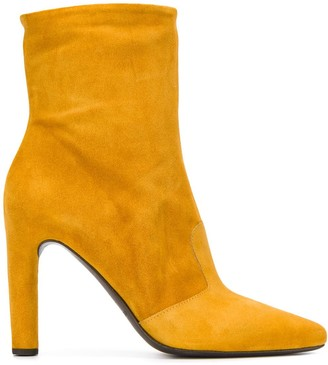 Del Carlo pointed ankle boots