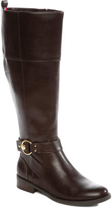Tommy Hilfiger Women's Casual boots DBRLL - Cacao Isha Wide-Calf Boot - Women