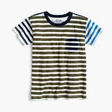 J.Crew Boys' mash-up pocket T-shirt
