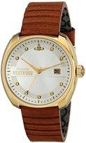 Vivienne Westwood Men's VV080SLTN Bermondsey Analog Display Swiss Quartz Brown Watch