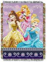 "Disney Princess ""Sparkle Dream"" 48"" x 60"" Triple Woven Tapestry Throw"