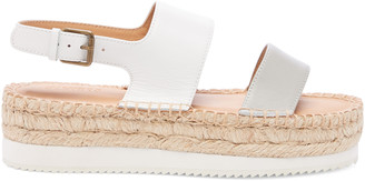 Soludos Women's Ali Sport Sandals Espadrille Off White/grey Size 6 Leather From Sole Society