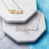 Anna Lou of London Personalised Handmade Name Necklace