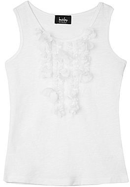 JCPenney BY AND BY GIRL by&by Girl Embellished Jersey Tank Top - Girls 7-16