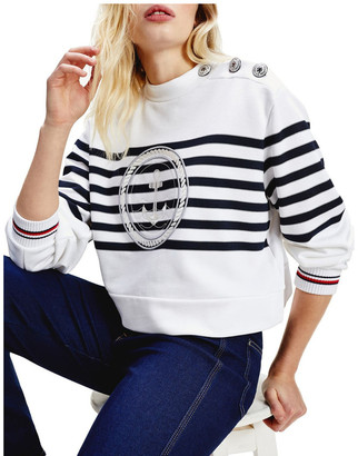 Tommy Hilfiger Tommy Icons Nautical Logo Sweatshirt