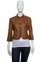 June, Butter-soft lambskin cropped jacket