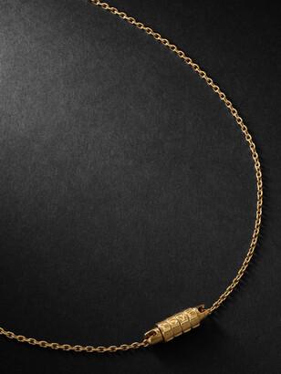 Luis Morais Love Lock Gold Necklace