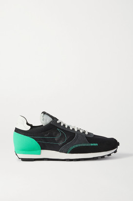 Nike Daybreak Type N.354 Mesh, Faux Suede And Leather Sneakers - Black