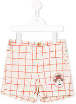 Bobo Choses checked shorts - kids - Cotton - 4 yrs