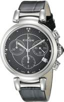 Edox Women's 10220 3C NIN LaPassion Analog Display Swiss Quartz Watch