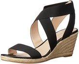 Nine West Women's Jenafir Fabric Wedge Sandal