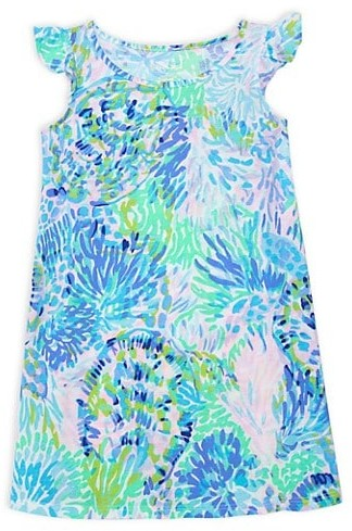 Thumbnail for your product : Lilly Pulitzer Little Girl's & Girl's Ella Print Shift Dress