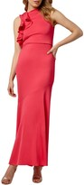 Phase Eight Collection 8 Brittany Shoulder Dress, Coral Pink