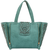 Mellow World Jade Sophie Laser-Cut Tote